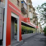 Фасадное оформление магазина мебели